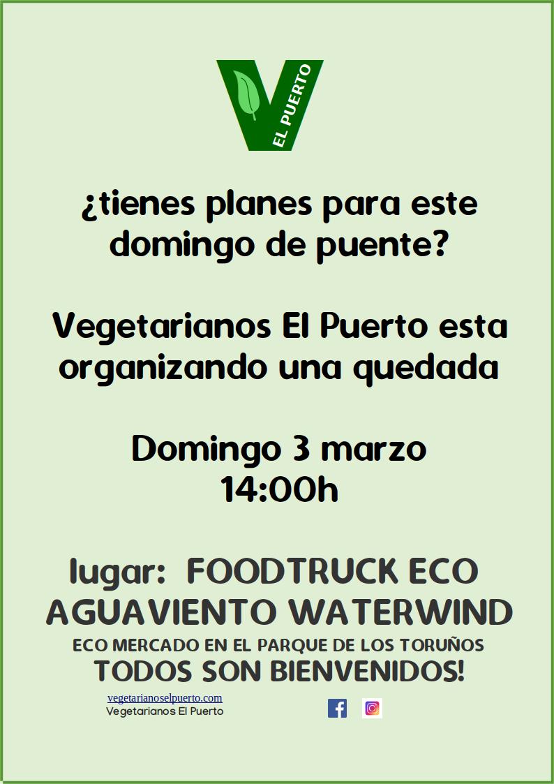 Quedada en el Food Truck Agua Viento