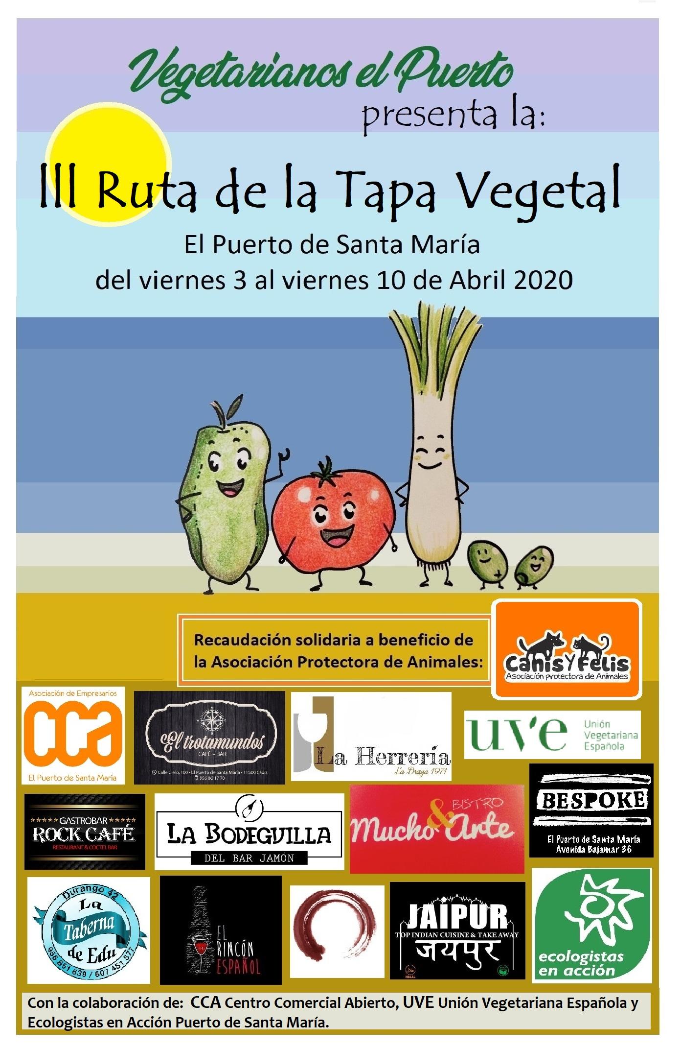 III Ruta de la Tapa Vegetal  Semana Santa 2020