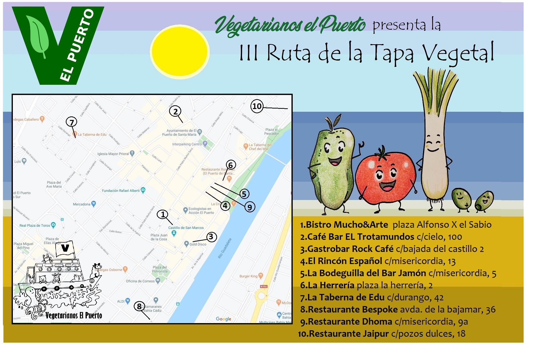 III Ruta de la Tapa Vegetal – Semana Santa 2020