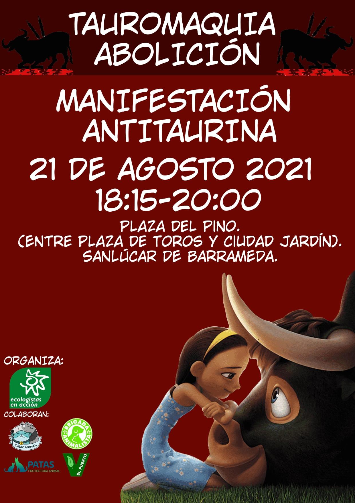 Manifestación Antitaurino